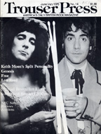 Keith Moon Trouser Press Magazine