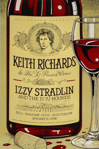 Keith Richards & The X-Pensive Winos Poster