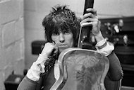 Keith Richards Premium Vintage Print