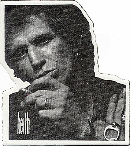 Keith Richards Vintage Pin