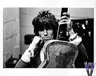 Keith Richards Vintage Print