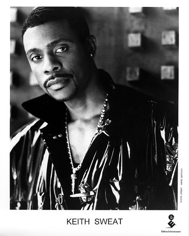 Keith Sweat Promo Print