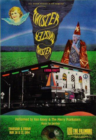 Ken Kesey Poster