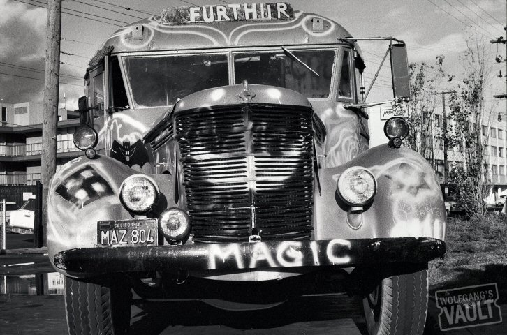 Ken Kesey's BusFine Art Print