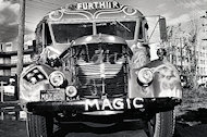 Ken Kesey's Bus Premium Vintage Print