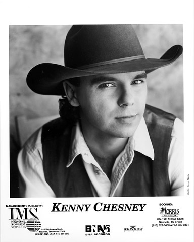 Kenny Chesney Promo Print