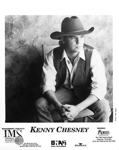 Kenny ChesneyPromo Print