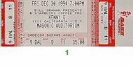 Kenny G 1990s Ticket