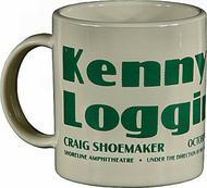 Kenny Loggins Vintage Mug