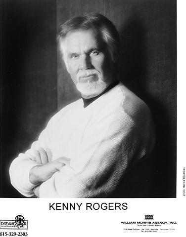 Kenny RogersPromo Print