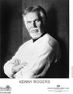 Kenny Rogers Promo Print