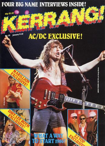 Kerrang! Issue 111