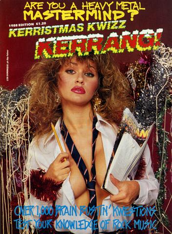 Kerrang! Kerristmas Kwizz 1988