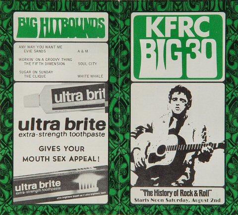 KFRC Big 30 Hits Program