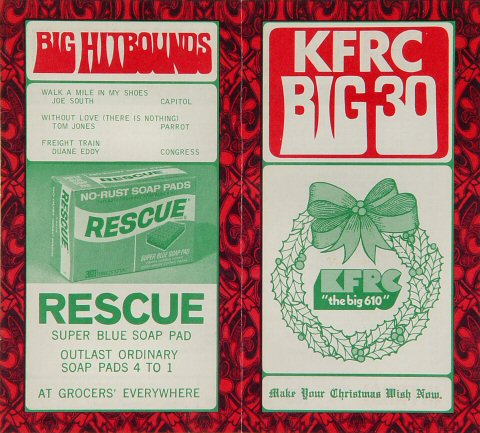 KFRC Big 30 Hits Program