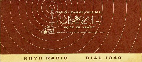 KHVH Radio Dial 1040Program