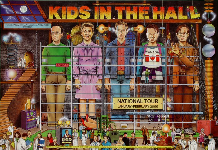 Kids in the HallPoster