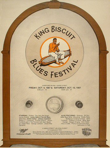 King Biscuit Blues Festival Poster