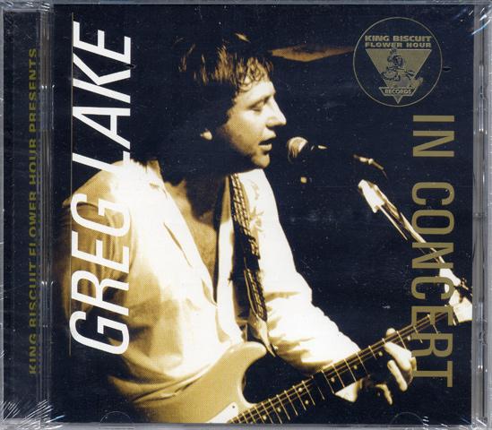 King Biscuit Flower Hour Presents… Greg Lake CD