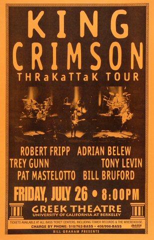 King Crimson Poster