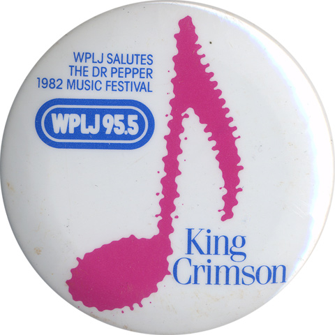 King Crimson Vintage Pin