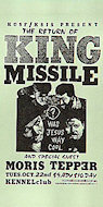 King Missile Handbill