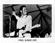 King Sunny Ade Promo Print