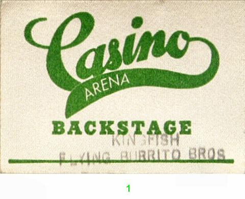 The Flying Burrito Brothers Backstage Pass