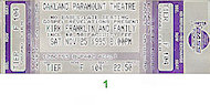 Kirk Franklin and Family Vintage Ticket