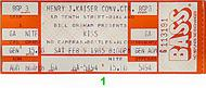 Queensryche 1980s Ticket