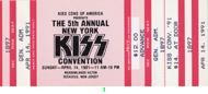 Kiss 1990s Ticket