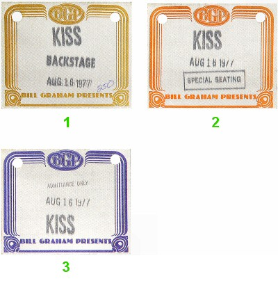 KissBackstage Pass