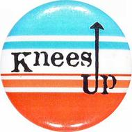 Knee's UP Vintage Pin