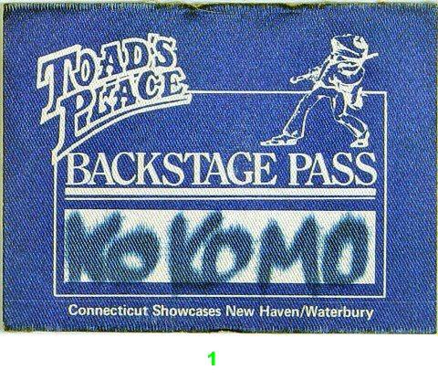 KokomoBackstage Pass
