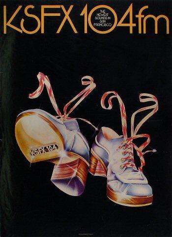 KSFX 104fm Poster