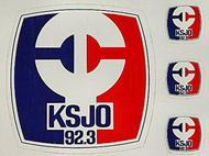 KSJO 92.3 Sticker