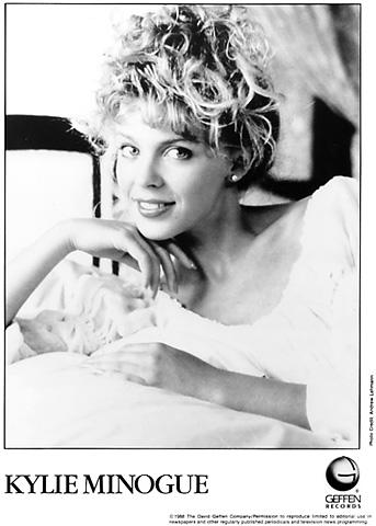 Kylie Minogue Promo Print