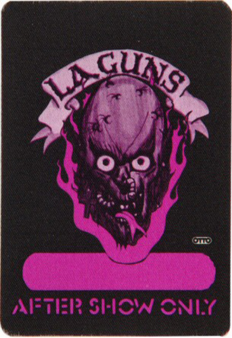 L.A. Guns Backstage Pass