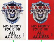 L.A. Guns Laminate