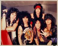 L.A. Guns Vintage Print