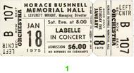 LaBelle 1970s Ticket