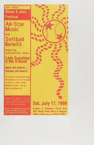 Lady Sunshine & the X-Band Poster