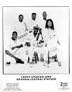 Larry Graham & Graham Central Station Promo Print