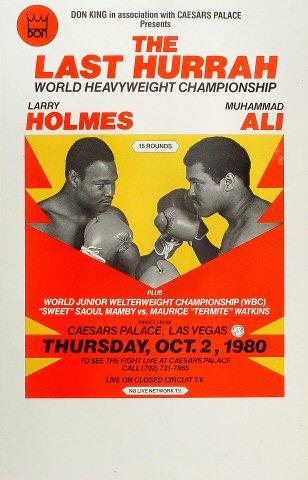 Larry Holmes Poster