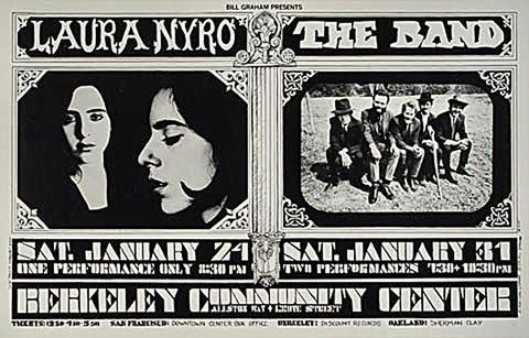 Laura Nyro Handbill