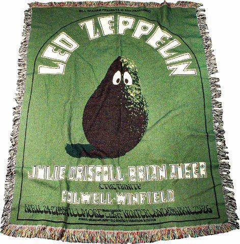 Led Zeppelin Afghan