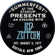 Led Zeppelin Vintage Pin