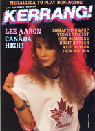 Lee Aaron Magazine