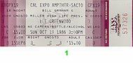 Lee Greenwood 1980s Ticket