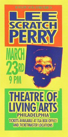 "Lee ""Scratch"" Perry Handbill"